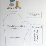 Child Oven MItt